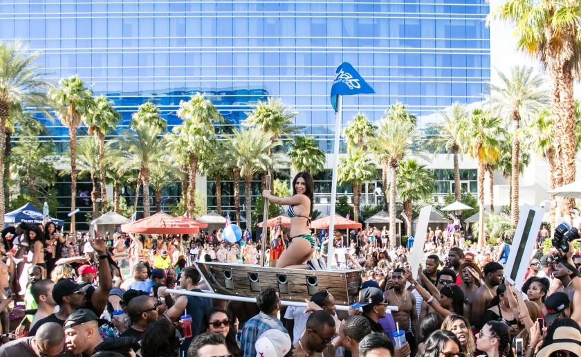 Rehab Beach Club in Las Vegas