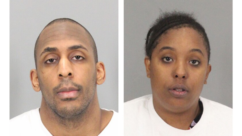 Laron Campbell and his sister, Marcaysha Alexander, were arrested Tuesday by Santa Clara County sheriff's deputies and U.S. Marshals.