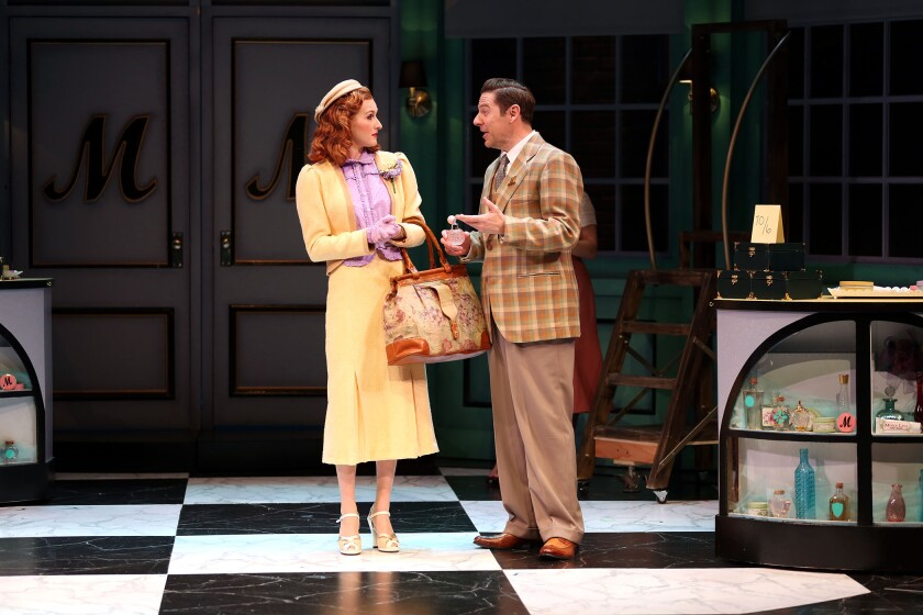 She Loves Me at South Coast Rep starring Erin Mackey and Brian Vaughn