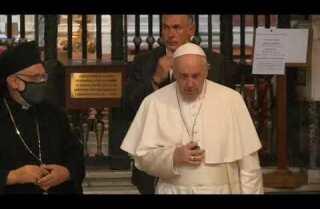 El papa sale del Vaticano tras el confinamiento y acude a Santa María Mayor
