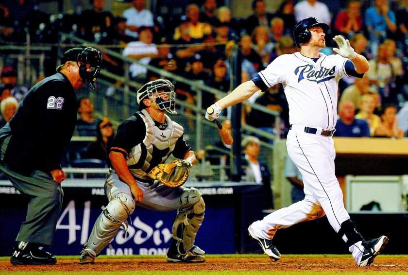 Third baseman Chase Headley had career highs in several categories in 2012. K.C. Alfred • U-T
