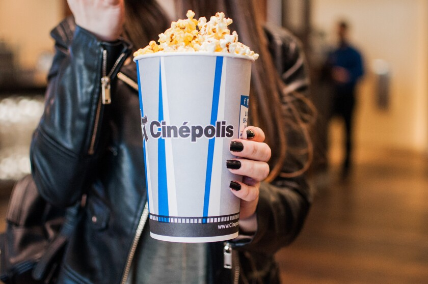 Cinepolis opens with limited capacity on March 19.