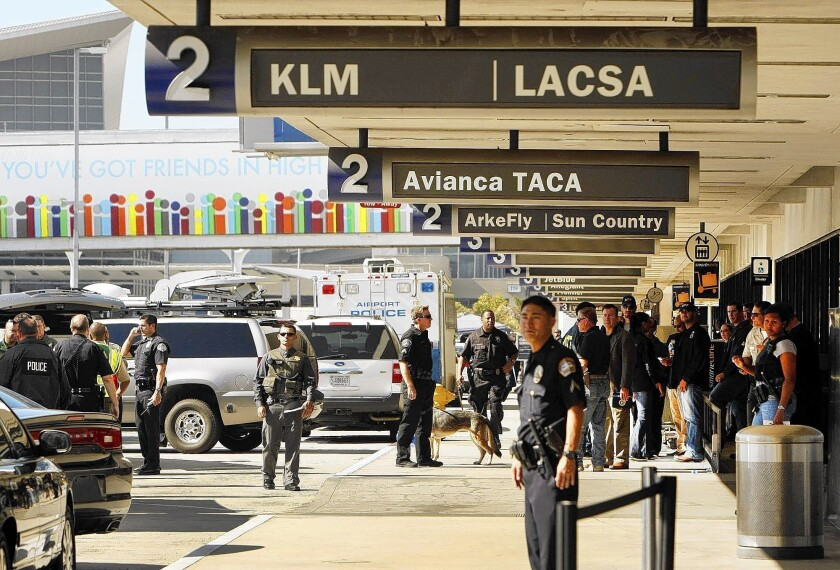 LAX shooting response criticized in report