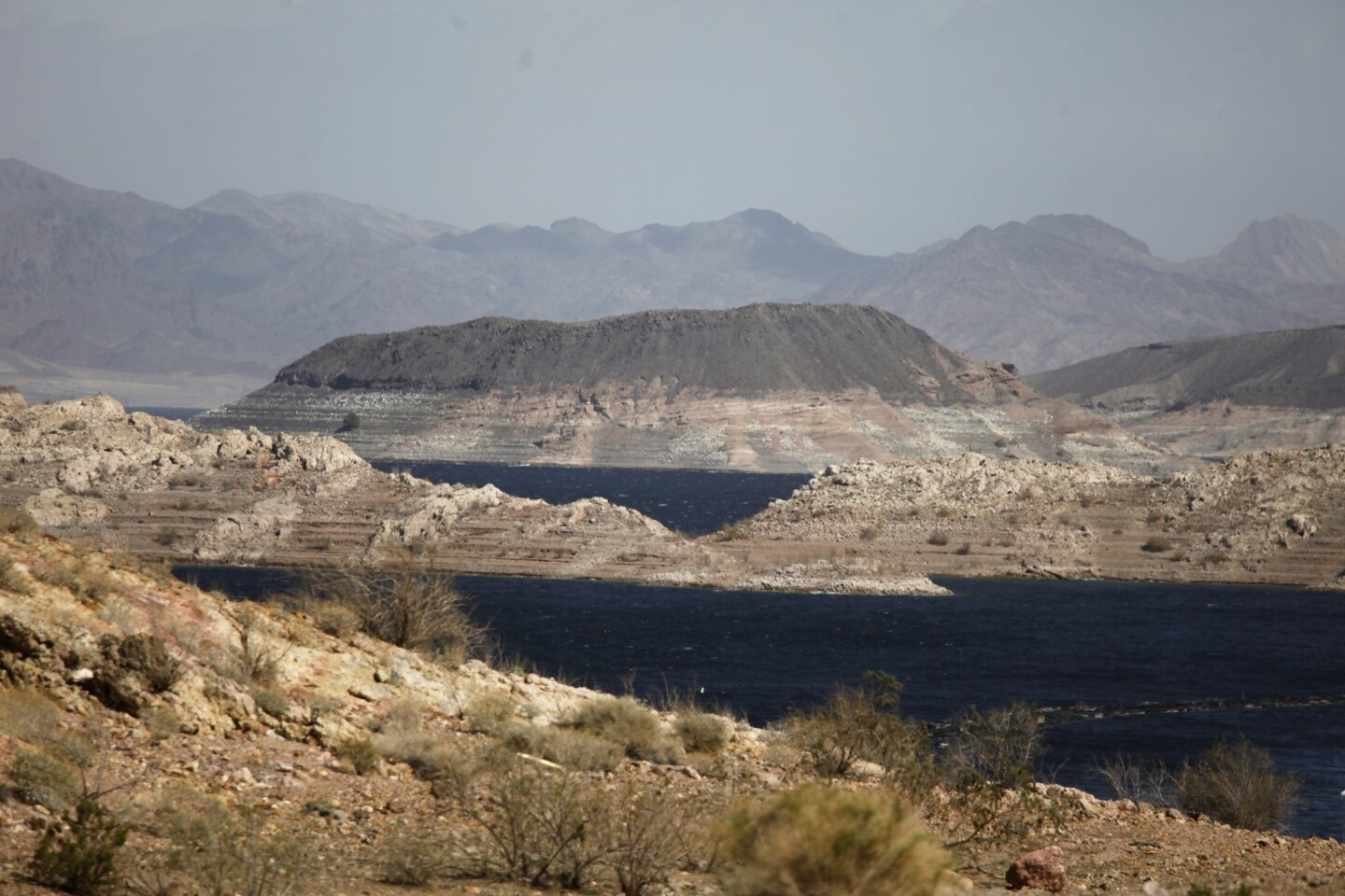 An ongoing drought and the Colorado River's stunted flow have shrunk Lake Mead to its lowest level in generations.