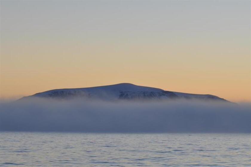 View of Antarctica's Danco Island on Jan. 12, 2019, from the vessel carrying 80 female professionals, all members of the Homeward Bound expedition to highlight the problem of climate change on the White Continent and provide visibility for female leadership on issues of global import. EFE-EPA/ Beth Strain