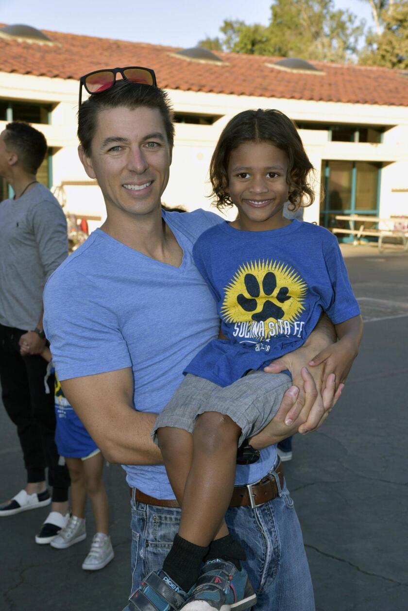 Michael Brown with Reid