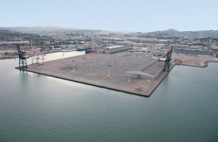 Pier 80 in San Francisco will be a new home to Pasha Automotive Services, which also operates in National City.