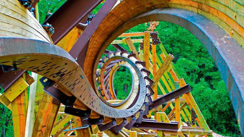Looping Wooden Roller Coasters Are About To Become A Reality Los