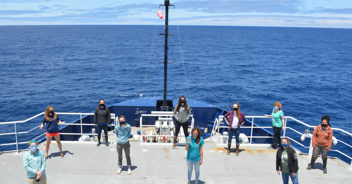 Aboard the Sally Ride, an all-female science team made this research cruise historic