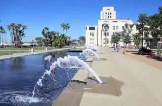 Water use spikes at Waterfront Park