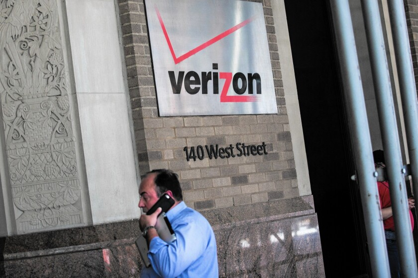 All major phone companies, including Verizon, have websites intended to explain to customers what's on their bills. Above, Verizon headquarters in New York City.