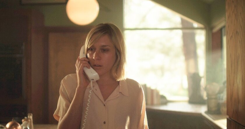 "Chloe Sevigny in the movie ""The Wait."""