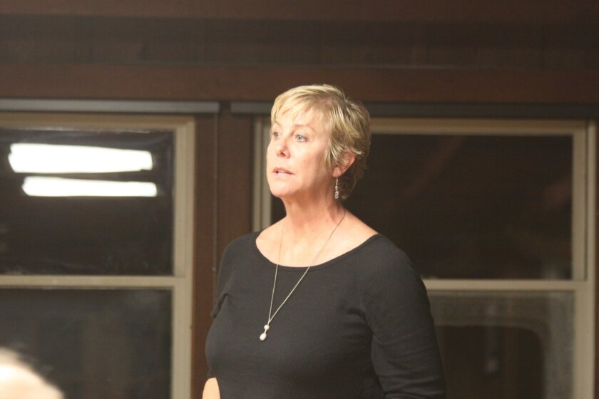 Angie Preisendorfer, one of the LJSA candidates who spoke at the Feb. 11 meeting.