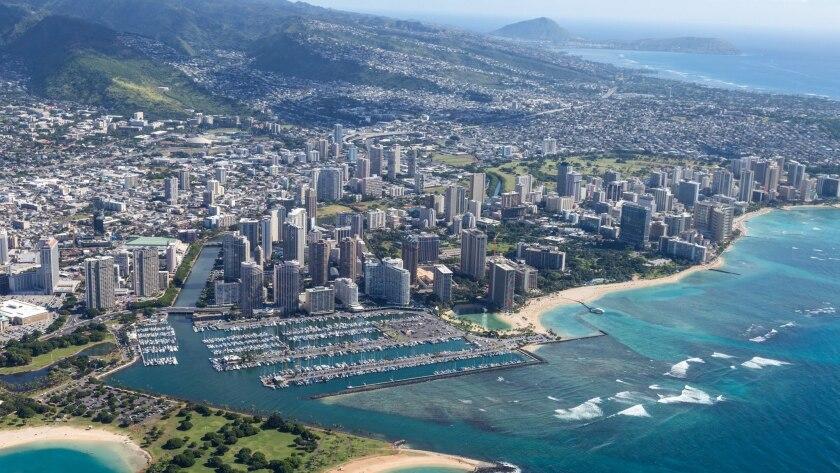 Hawaii emergency officials say an alert of a ballistic missile threat was a false alarm.