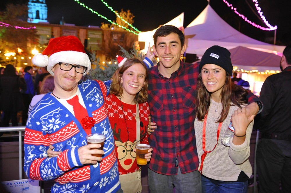 Festive San Diegans flocked to the first night of the famed December Nights event at Balboa Park on Friday, Dec. 1, 2017.