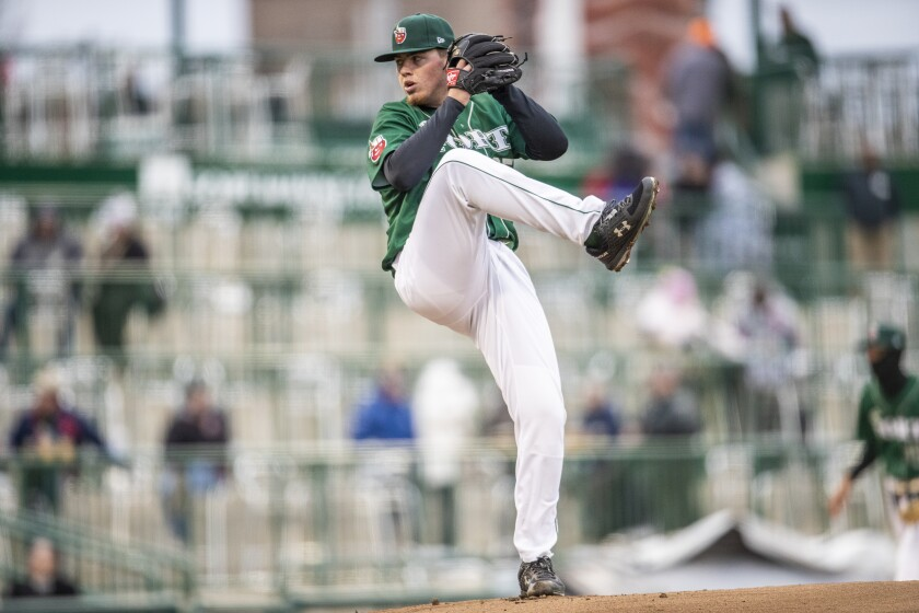 Left-hander Ryan Weathers, the Padres' No. 1 pick in the 2018 draft, started his first full season at low Single-A Fort Wayne.