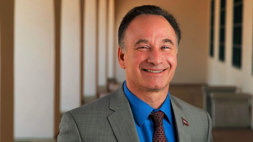 SDSU president Elliot Hirshman