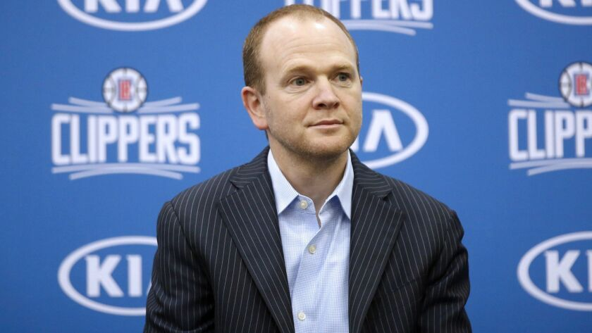 Lawrence Frank, the Clippers' president of basketball operations, has helped maneuver the team into a position to build long-term success.