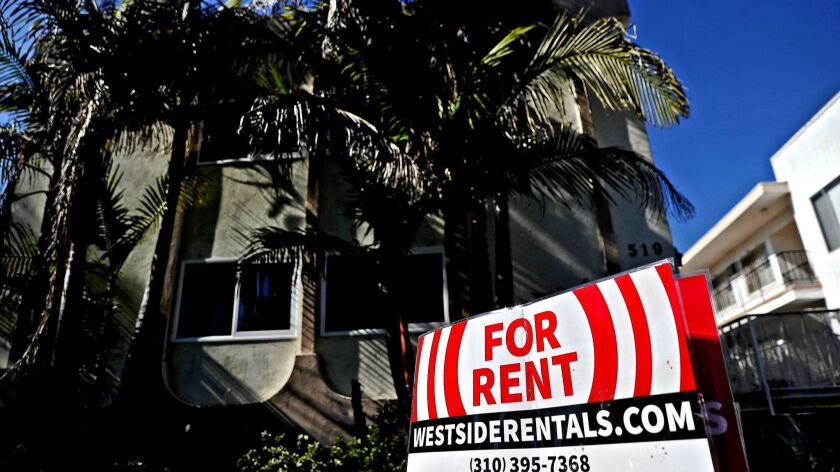 Rents In Los Angeles Rise At Fastest Pace In Nine Years