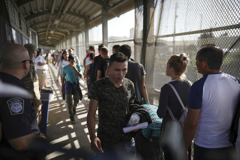 EEUU da esperanza a migrantes rechazados de Matamoros
