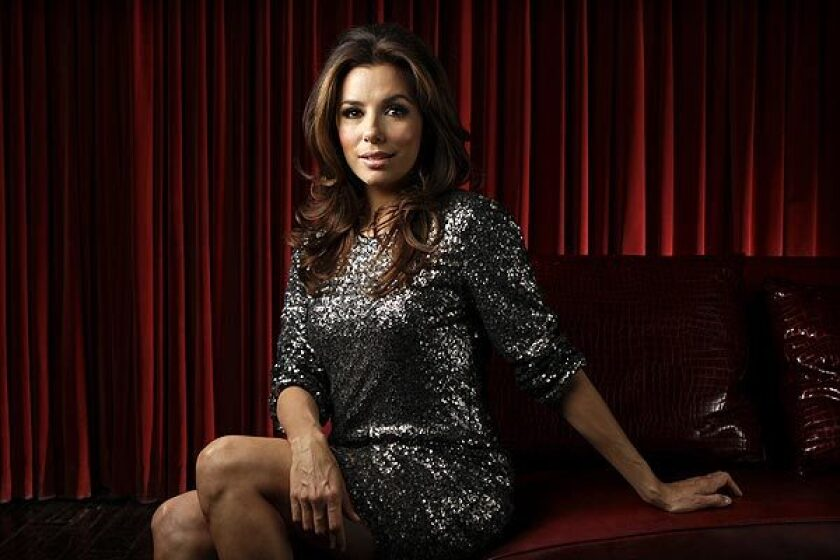 Actress, director and producer Eva Longoria is supporting an effort create more job opportunities in Hollywood for Latino writers, actors and other entertainment industry workers.