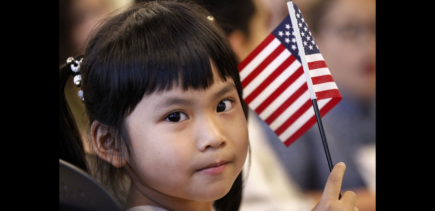 Children recognized as U.S. citizens