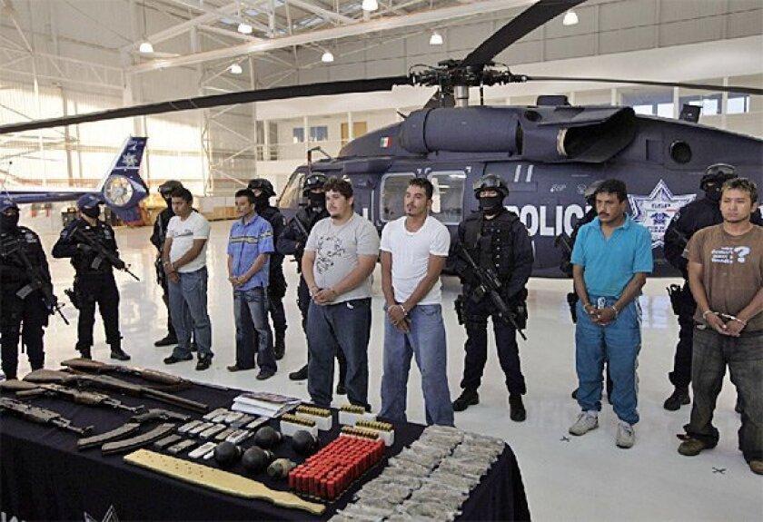 La Familia drug cartel target of sweep in U S  - The San