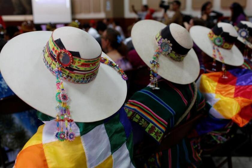 La Fundación para el Debido Proceso (DPLF) anunció hoy la publicación de un nuevo manual que busca dotar a los pueblos indígenas, en especial en Latinoamérica, de los recursos necesarios para defender sus derechos ante el riesgo de que sean vulnerados. EFE/Archivo