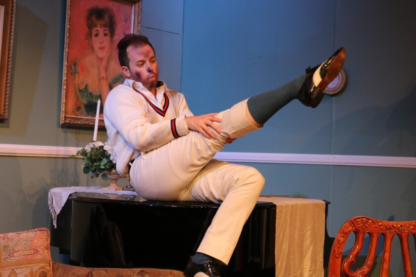 Hay Fever at The Attic Theater