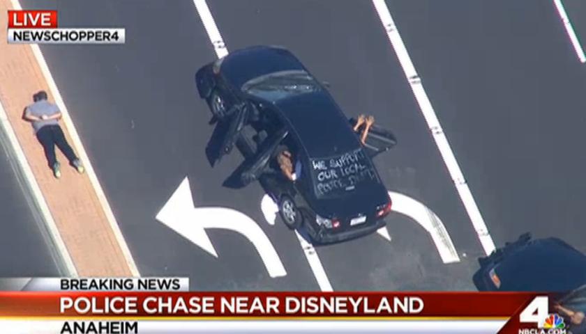 Anaheim pursuit