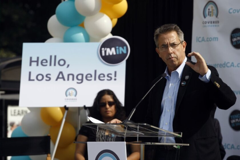 Covered California's executive director, Peter Lee, said consumers will have until Feb. 20 to finish signing up for health coverage if they start the process by Sunday's deadline.