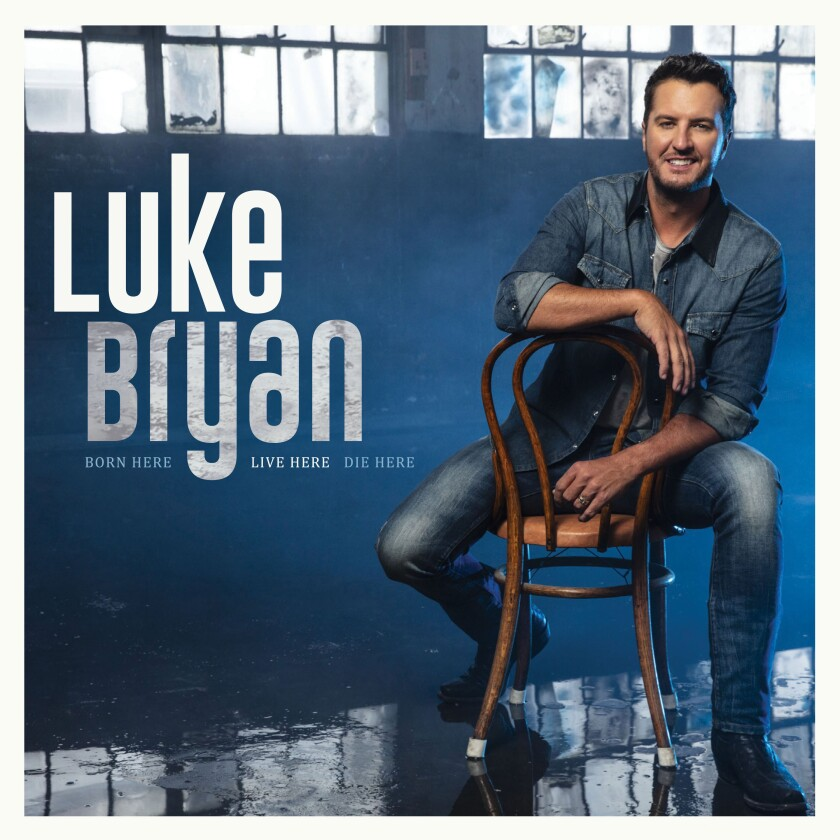 """This cover image released by Capitol Records Nashville shows """"Born Here Live Here Die Here"""" by Luke Bryan, out on Friday. (Capitol Records Nashville via AP)"""