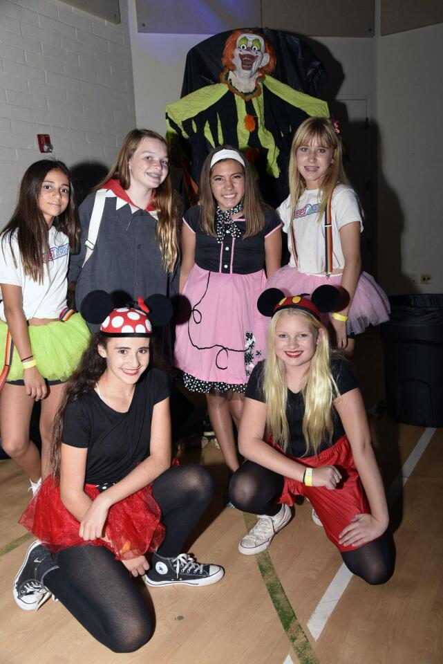 Ella, Aspen, Clara, Jewel. Front row: Marisela, Lexi