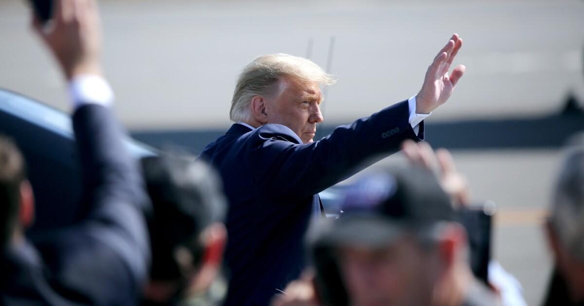 Private Trump fundraiser in Newport Beach raises $10 million for reelection campaign