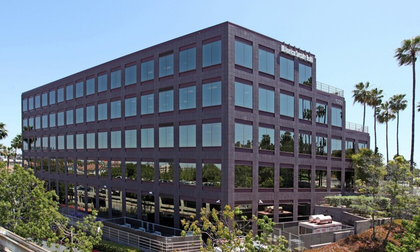 Wateridge Plaza in Sorrento Mesa is the biggest office building sale so far in 2014, according to CoStar Group. It sold for $72.5 million in March to Parallel Capital Partners. Beacon Capital Partners was the seller.
