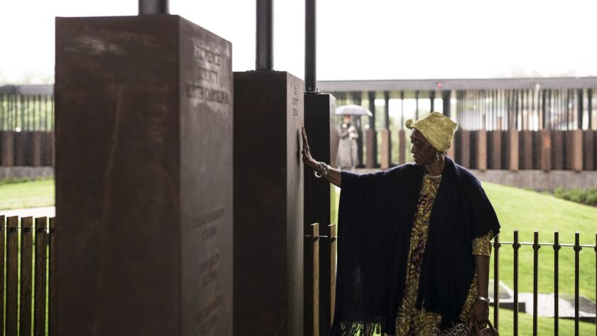 National Memorial For Peace And Justice Examines U.S. History Of Lynchings