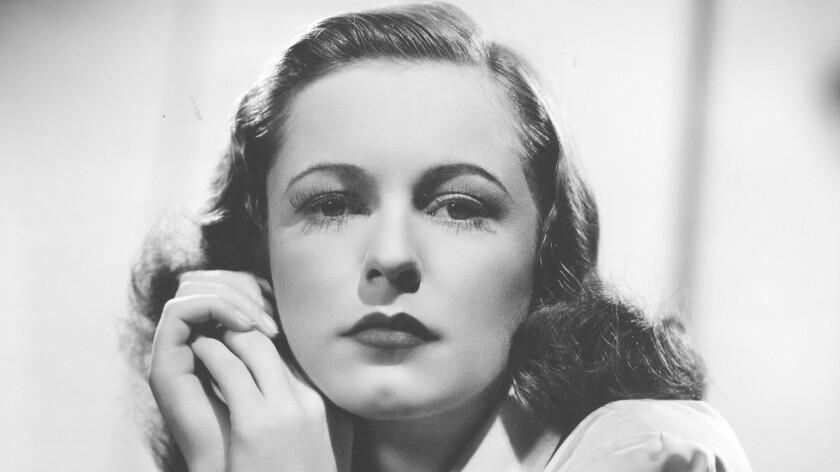 Geraldine Fitzgerald in 1939.