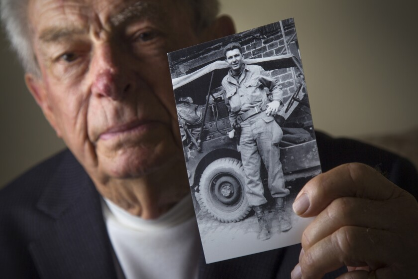 Jack Port, 92, was part of the D-Day invasion in France during World War II,  serving in the Army.