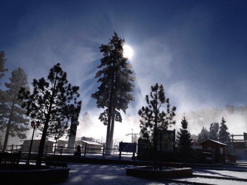 Winter is settling in across California, including Big Bear, above, where skiers can find pre-Christmas deals.