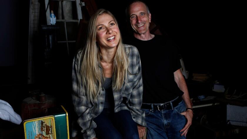 Alibar with director Neel Keller.