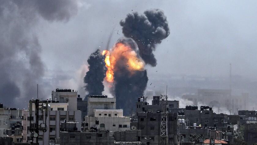 Conflict in Gaza Strip, Central Gaza Strip, - - 04 May 2019