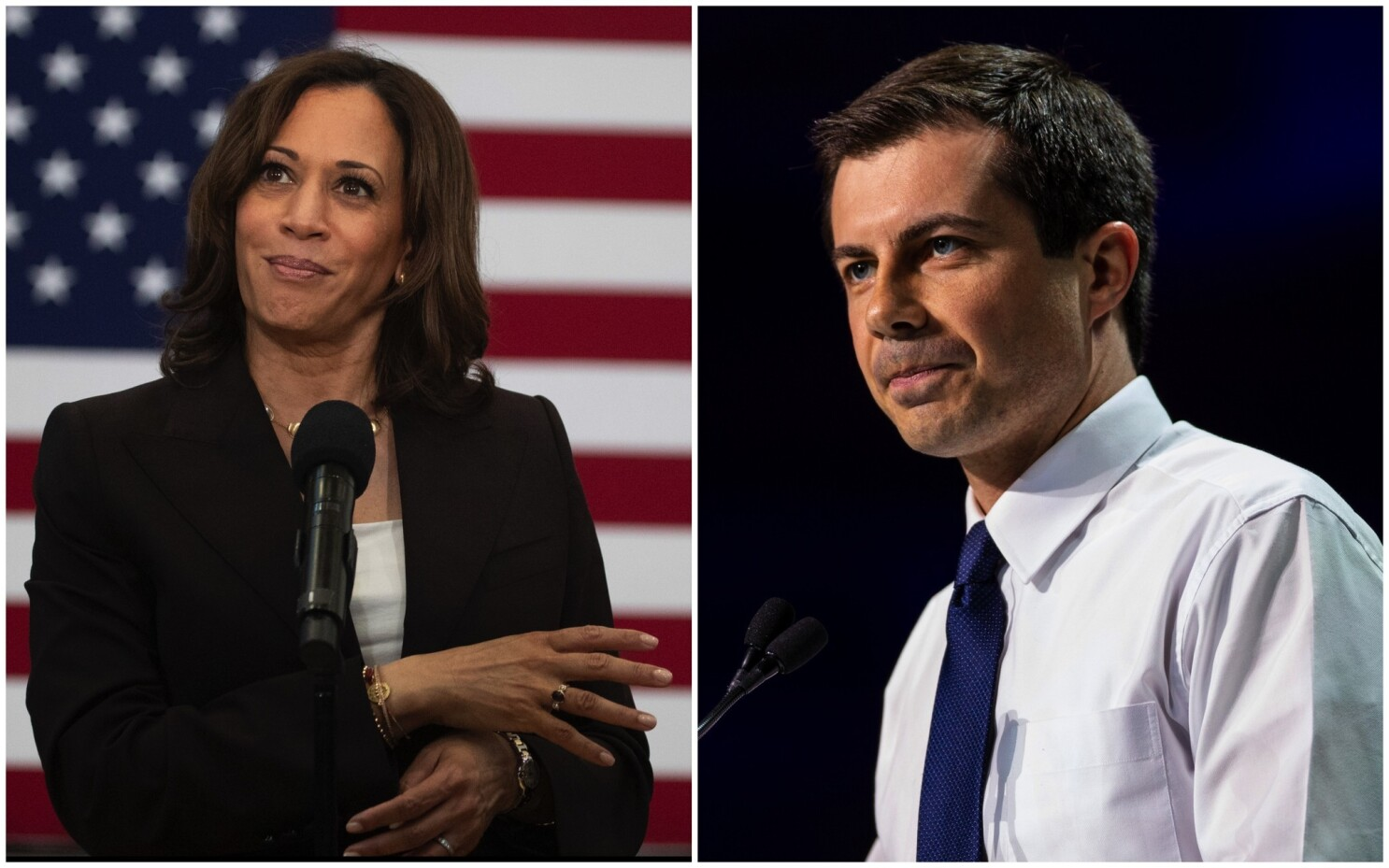 A surging Harris lags in fundraising, while Buttigieg leads the Democratic pack - Los Angeles Times