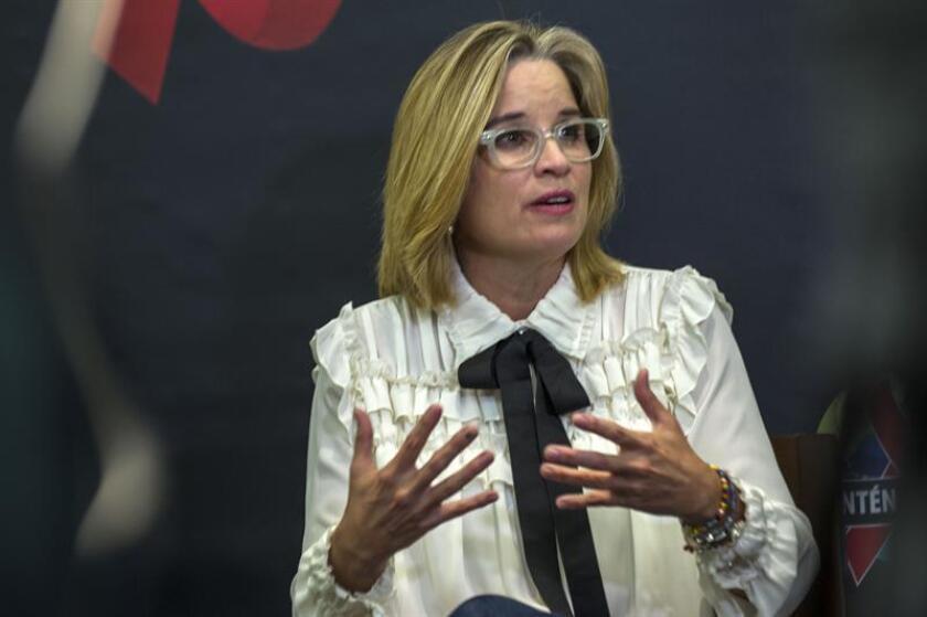 La alcaldesa de San Juan, Carmen Yulín Cruz, criticó hoy al Congreso de los Estados Unidos al asegurar que continúa legislando de espaldas a Puerto Rico. EFE/ARCHIVO