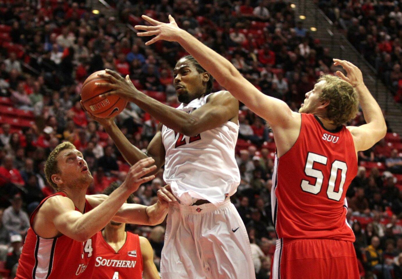 SDSU-Southern Utah Mens Basketball