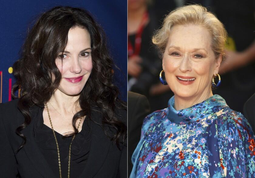 Mary-Louise Parker y Meryl Streep