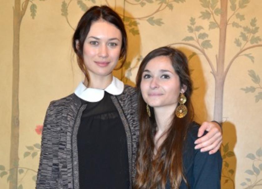 Olga Kurylenko and Alice Elia