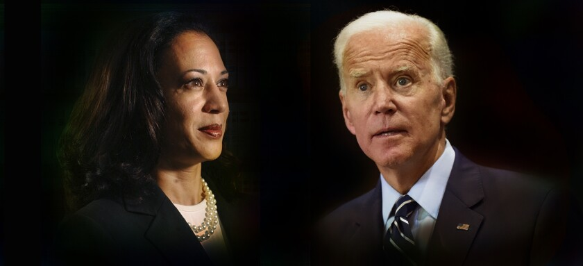 Historic Biden Chooses Kamala Harris And All Sides Respond Los Angeles Times