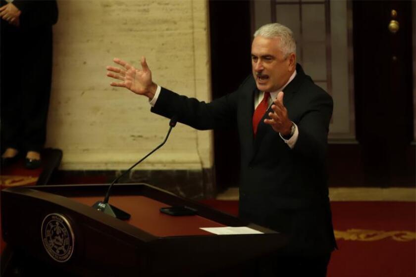 """Presidente Senado de Puerto Rico dice: """"jamás negociaré principios y valores"""""""