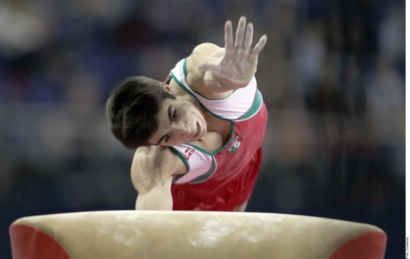 El gimnasta mexicano, Daniel Corral