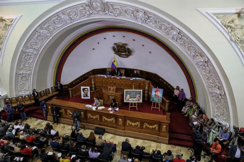 """Estados Unidos expresó hoy su rechazo a la decisión de la Asamblea Nacional Constituyente (ANC) venezolana de que los comicios presidenciales se celebren antes de mayo de este año por considerarla una entidad """"ilegítima"""", y volvió a pedir elecciones """"libres y justas"""". EFE/ARCHIVO"""
